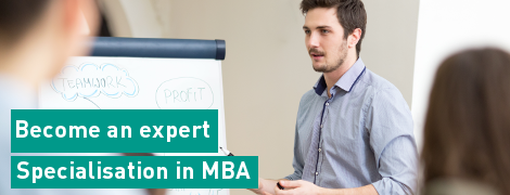 Specialisation in MBA